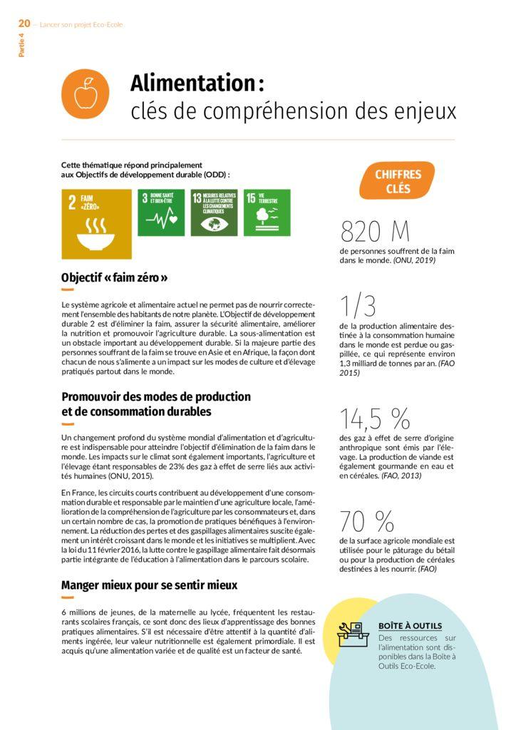 thumbnail of Alimentation clés de compréhension