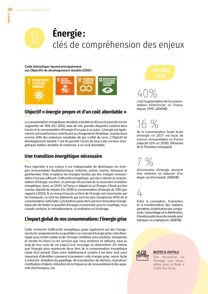 thumbnail of Energie clés de compréhension