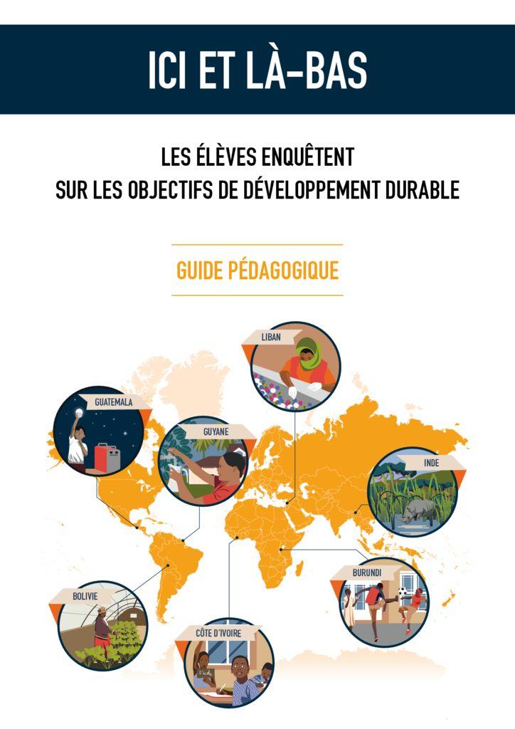 thumbnail of Guide pedagogique Ici et La-Bas BD
